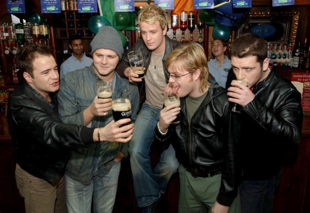 St Patricks Day Westlife