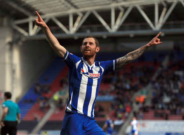 Wigan Athletic v Southend United - Sky Bet League One - DW Stadium.