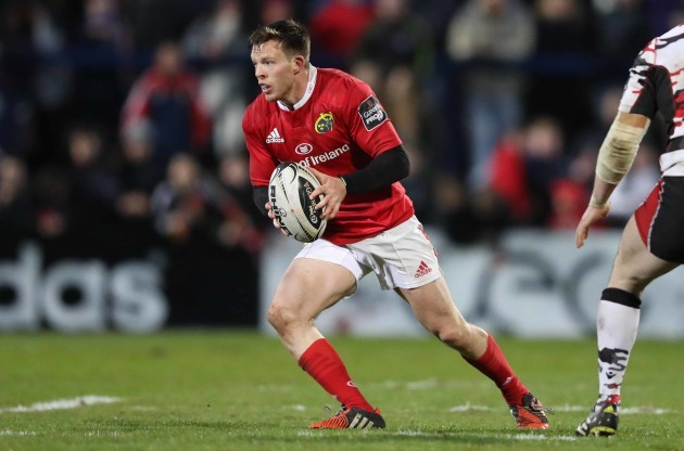 Munster's Johnny Holland