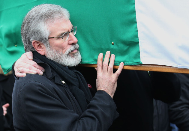 Martin McGuinness funeral: Republican and Unionist politicians among thousands lining streets