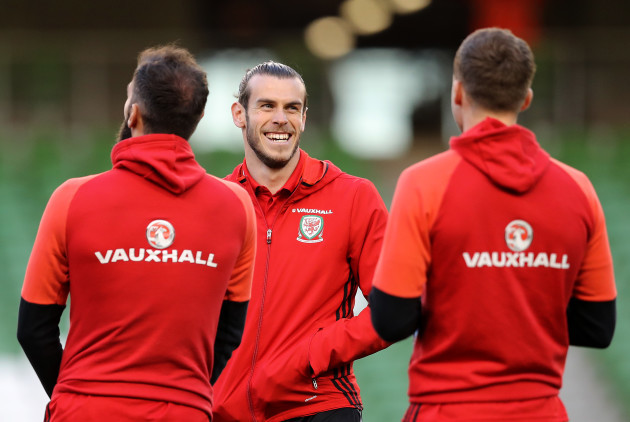Gareth Bale ahead of the game
