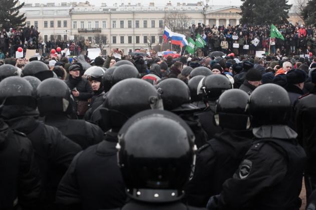 Russia: Anti Corruption Protest In Russia