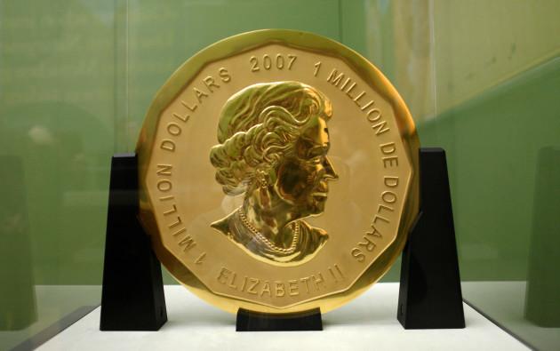 Gold Bullion Coin Worth $4 Million, Stolen in Berlin Museum Heist