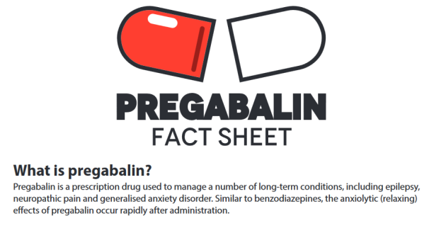 pregabalin street value