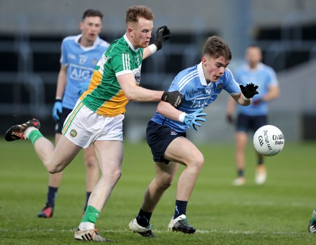 Dan O'Brien with Ronan McEvoy
