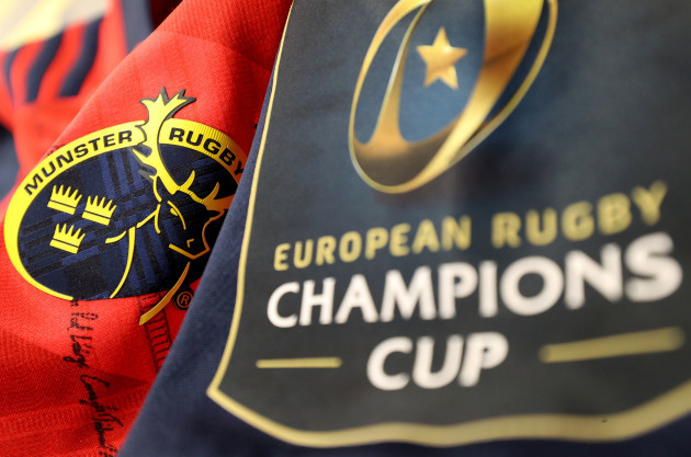 A view of the Munster jersey