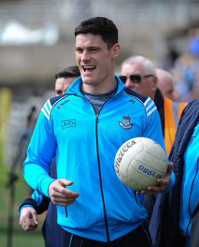 Diarmuid Connelly before the game