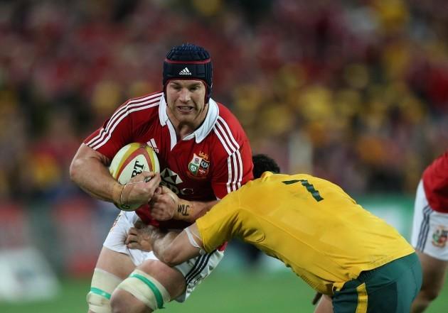 British and Irish Lions's  Sean O'Brien