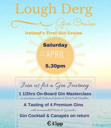 Irelands First Ever Gin Cruise Launches On Lough Derg Later This - Cruise to ireland from us