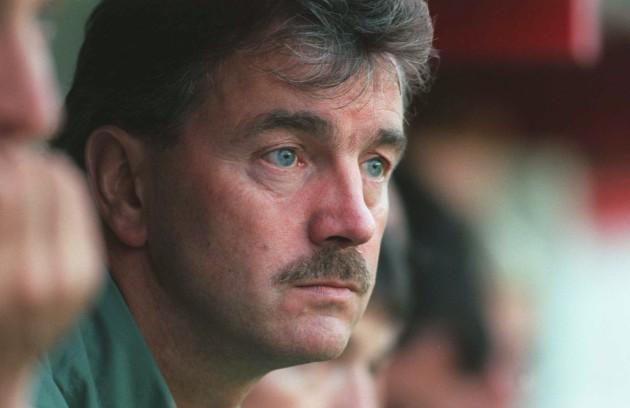 Damien Richardson Manager of Shelbourne 14/8/1996