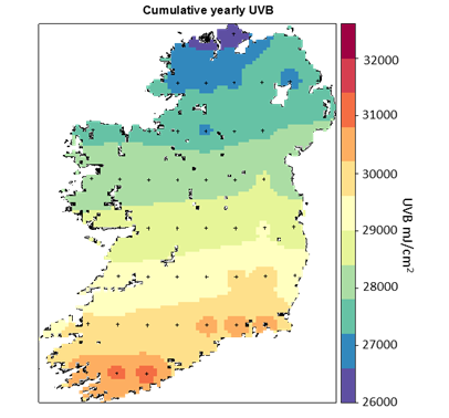 Theres Enough Irish Sunshine For Vitamin D Needs All Year Round - Vitamin d map us