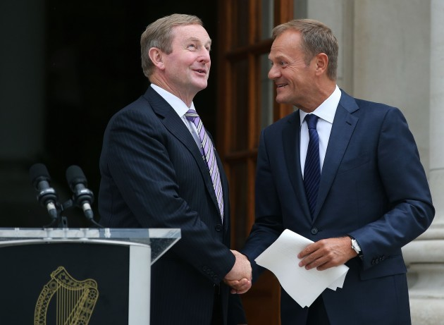 Tusk talks with Kenny