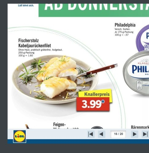 Lidl Germany brochure