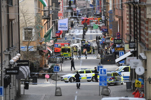 Sweden Truck Crash