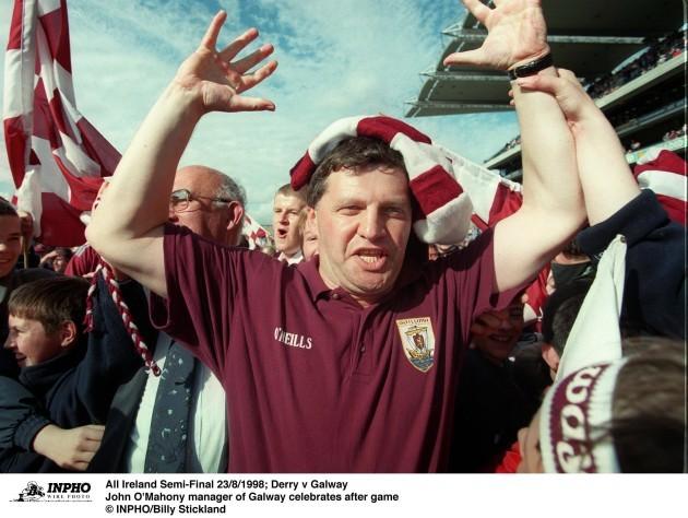 John O'Mahony 23/8/1998