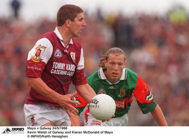 Kevin Walsh and Ciaran McDonald 24/5/1998
