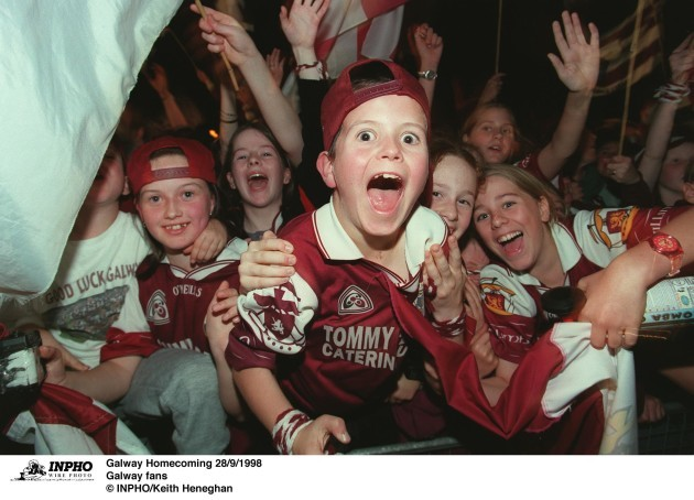 Galway fans 28/9/1998