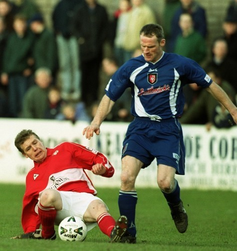 Paul Hegarty and Patsy Freyne 23/1/2000