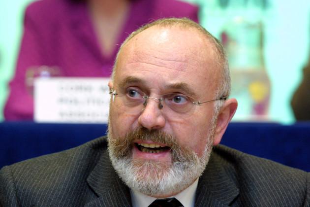 DAVID NORRIS ABORTION REFERENDUM CAMPAIGN NO VOTE RELIGOUS ISSUES RELIGION IN IRELAND PORTRAIT LANDSCAPE