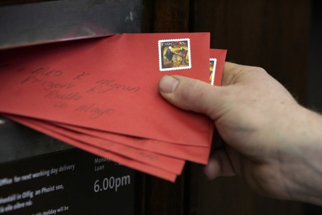 File Photo To save the five day postal service the cost of a stamp is set to rise. In a statement, AnÊPost said it is making a loss of 12-15 million in 2016 and a much greater loss is envisaged for 2017.