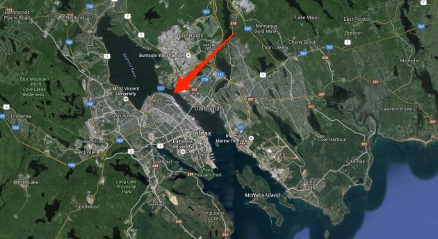to-exit-the-bedford-basin-where-the-ships-were-docked-they-had-to-pass-through-a-slim-channel-the-imo--behind-schedule-and-on-the-wrong-side-of-the-channel--refused-to-give-way-and-crashed-into-the-mont-blanc