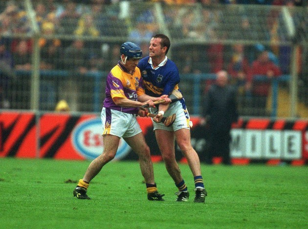 Liam Dunne and Brian O'Meara 18/8/2001