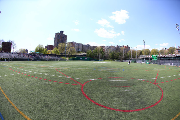 General view of Gaelic Park ahead of the game