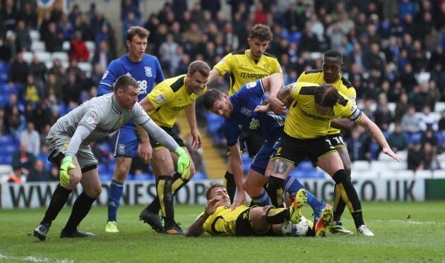 Birmingham City v Burton Albion - Sky Bet Championship - St Andrew's