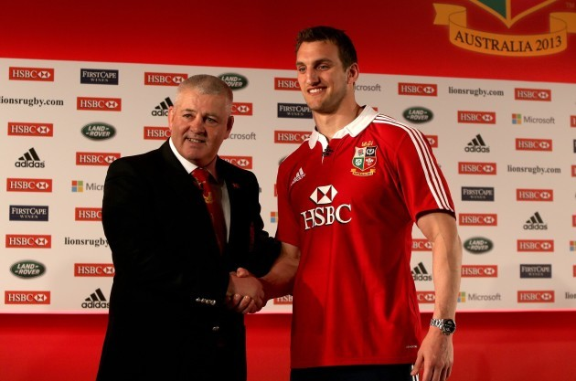 British and Irish Lions Squad File Photos