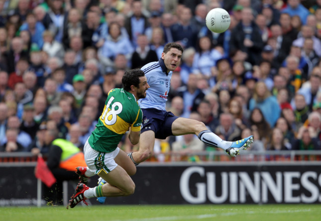 Bernard Brogan with Paul Galvin