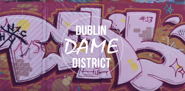 dublin town dame district