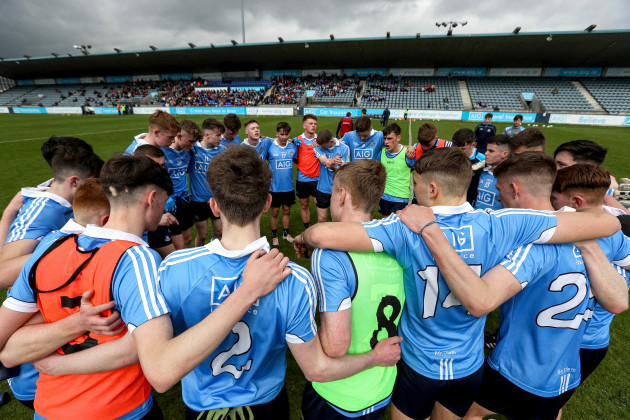 A view of Dublin team