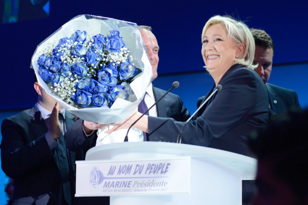 Marine Le Pen's Celebration Speech - Henin-Beaumont