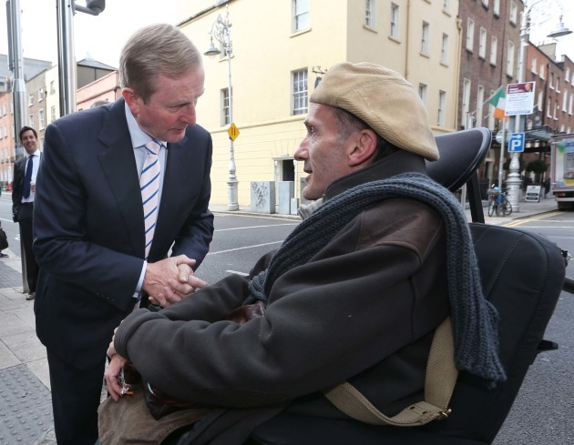File photo Donal Toolan, co-ordinator of the Forum of People with Disabilities and former member of the Council of State has died
