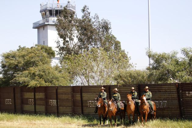 Building A Border Wall In San Diego