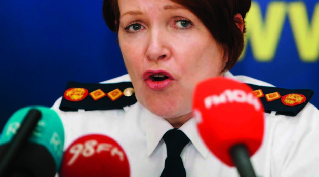 File Photo The Garda Commissioner Noirin O Sullivan has until noon today to provide her response to 27 issues raised during her appearance before the Joint Dáil Committee on Justice