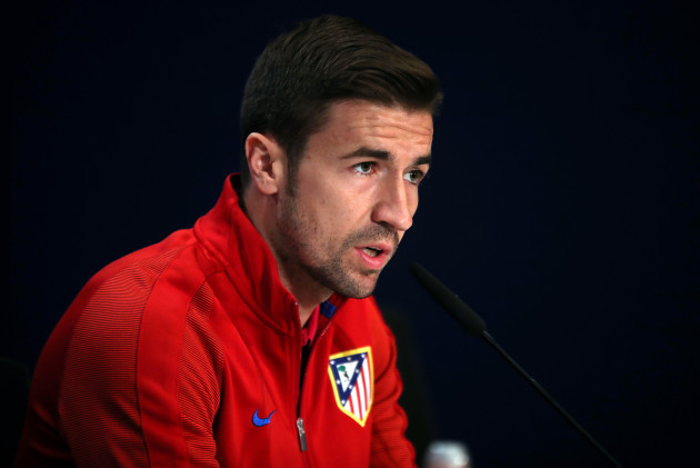 Atletico Madrid v Leicester City - UEFA Champions League - Quarter Final - First Leg - Leicester City Training and Press Conference - Vicente Calderon Stadium