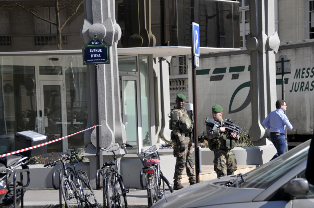 Envelope Explodes At IMF Offices - Paris