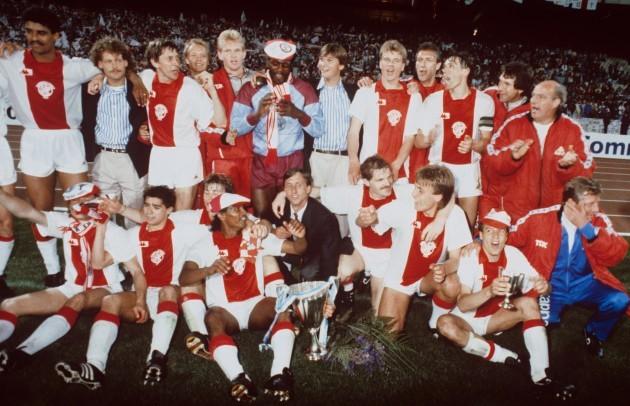 Soccer - European Cup Winners Cup - Final - Ajax v Lokomotive Leipzig - Olympic Stadium