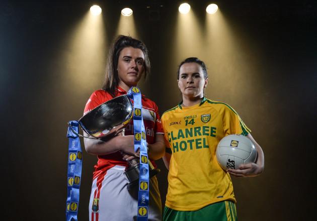 Lidl Ladies Football National League Division 1 & 2 Finals Captains Day