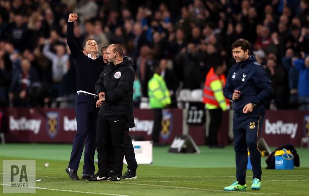 West Ham United v Tottenham Hotspur - Premier League - London Stadium