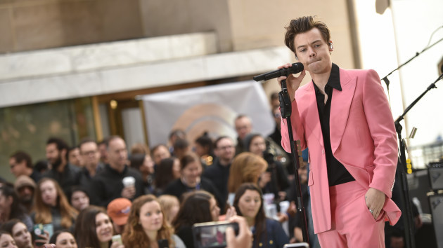 Harry Styles Performs On Today Show - New York