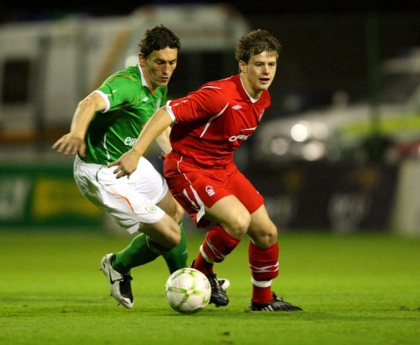 Keith Andrews and Mark Byrne