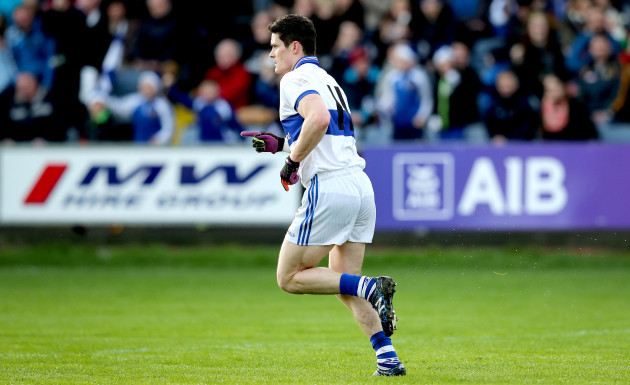 Diarmuid Connolly celebrates scoring