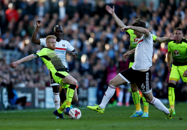 Fulham v Reading - Sky Bet Championship - Play off - First Leg - Craven Cottage