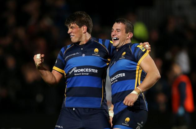 Rugby Union - Aviva Premiership - Worcester Warriors v Northampton Saints - Sixways Stadium