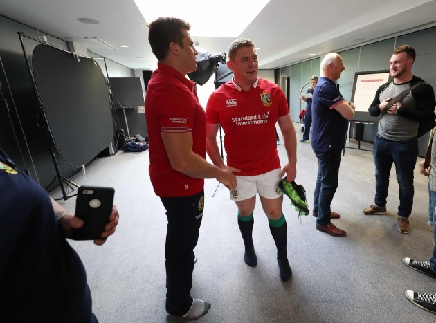 CJ Stander and Tadhg Furlong