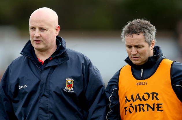 Pat Holmes and Noel Connelly