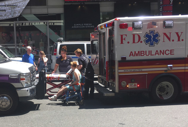 Times Square Crash