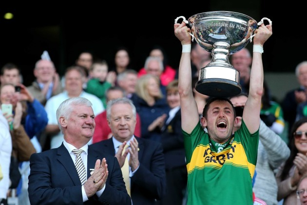 John Griffin lifts The Christy Ring Cup
